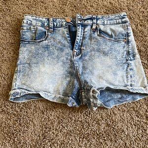 Pants - stretchy jean shorts